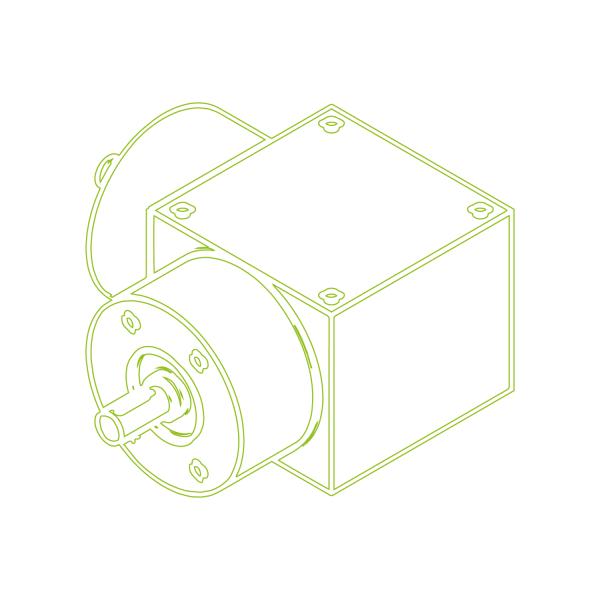 Bevel Gearboxes | KSZ-H-10-L | Drive ratio 2:1