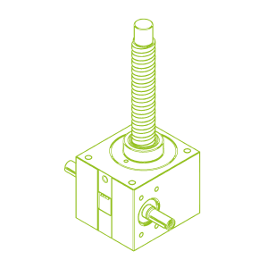 GSZ R-Ball screw 100 kN | 50x50