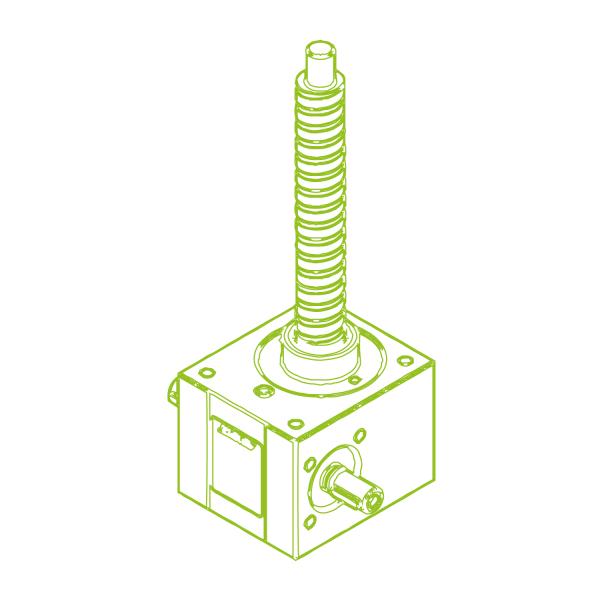 R-Ball screw 10 kN | 25x10
