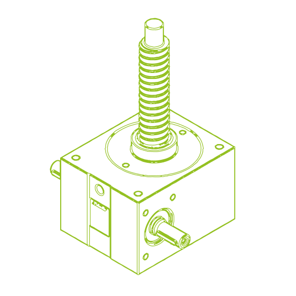 R-Ball screw 50 kN | 40x20