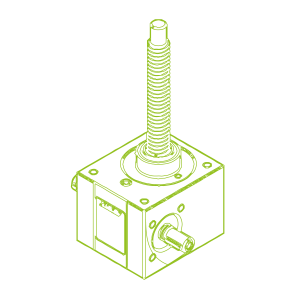 10 kN-20×4-R-Trapezoidal screw