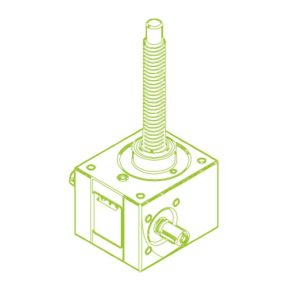 R-Trapezoidal screw 10 kN | 20x4