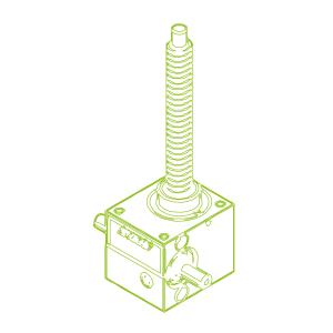 R-Trapezoidal screw 2,5 kN | 16x4