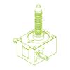 GSZ R-Trapezoidal screw 25 kN | 30×6