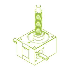 25 kN-30×6-R-Trapezoidal screw