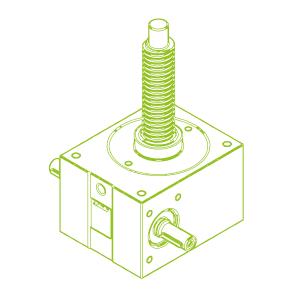 50 kN-40×7-R-Trapezoidal screw