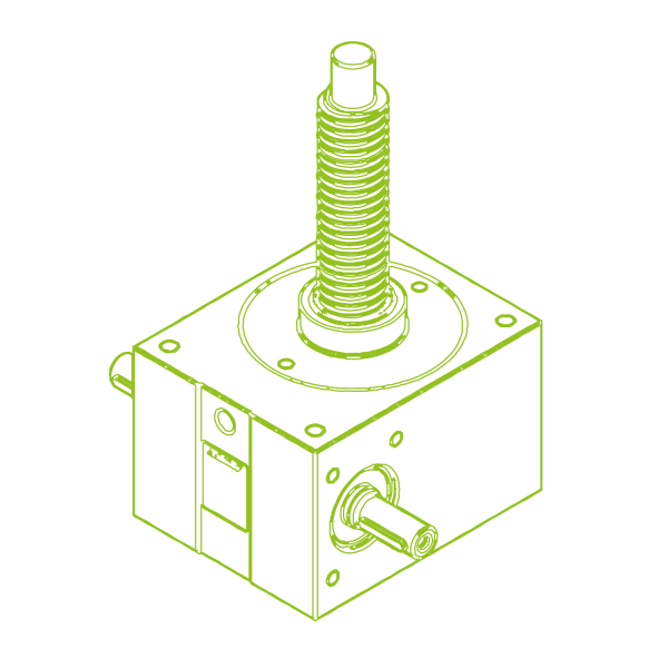 R-Trapezoidal screw 50 kN | 40x7