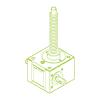 R-Trapezoidal screw 5 kN | 18x4