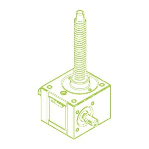 5 kN-18×4-R-Trapezoidal screw