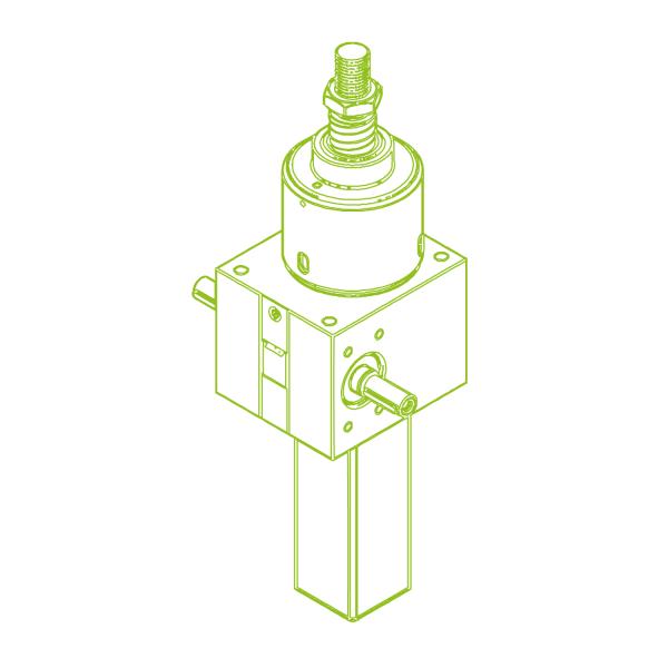 S-Ball screw 100 kN | 50x40