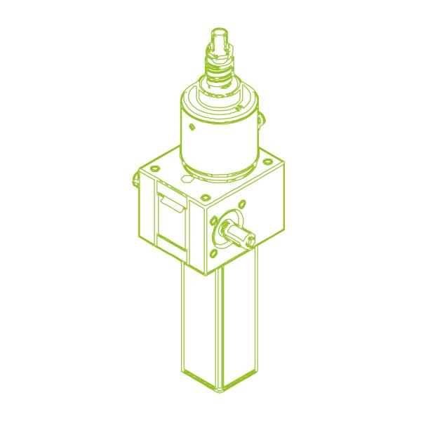 S-Ball screw 10 kN | 25x10