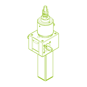 S-Ball screw 10 kN | 25x50