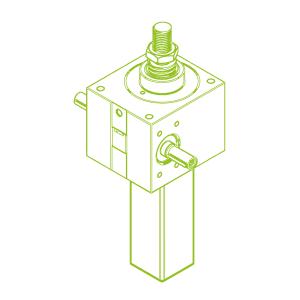 100 kN-55×9-S-Trapezoidal screw