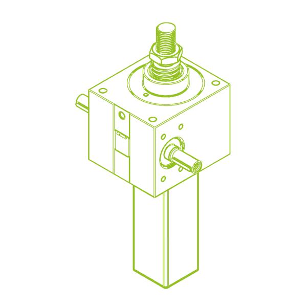 S-Trapezoidal screw 100 kN | 55x9