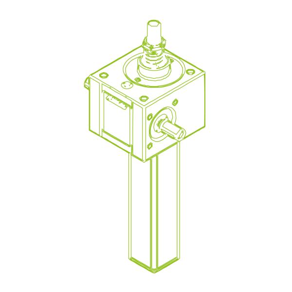 S-Trapezoidal screw 10 kN | 20x4