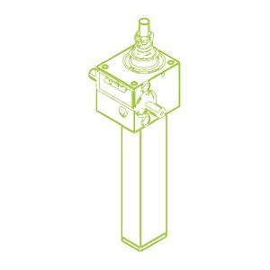 2,5 kN-16×4-S-Trapezoidal screw