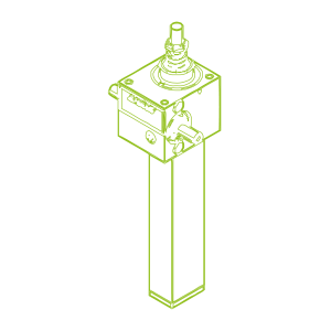 S-Trapezoidal screw 2,5 kN | 16x4