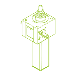 25 kN-30×6-S-Trapezoidal screw