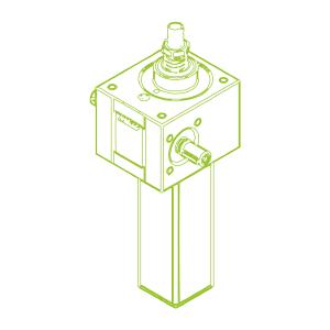 S-Trapezoidal screw 25 kN | 30x6