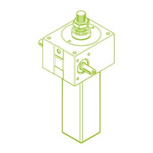 50 kN-40×7-S-Trapezoidal screw