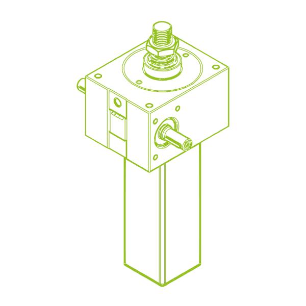 S-Trapezoidal screw 50 kN | 40x7