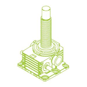 1000kN-160×80-R-Ball screw