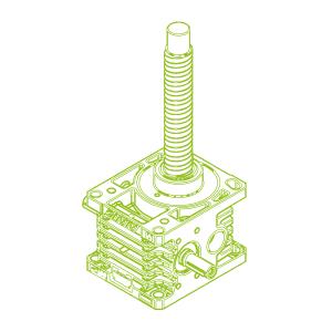 100kN-50×10-R-Ball screw
