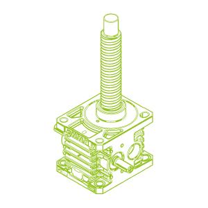 150kN-63×20-R-Ball screw