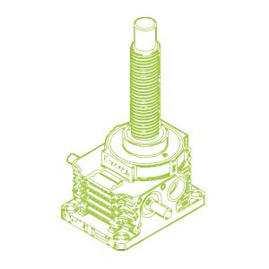 250kN-80×10-R-Ball screw