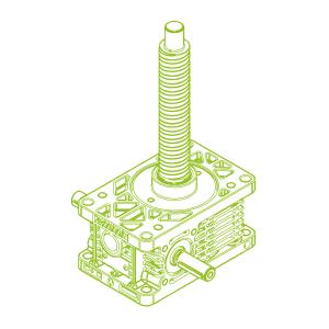 Z R-Ball screw 25kN | 32x10