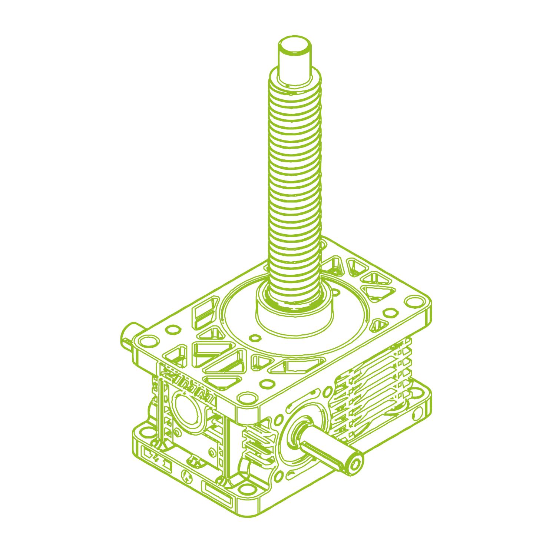 Z R-Ball screw 25kN | 32x40