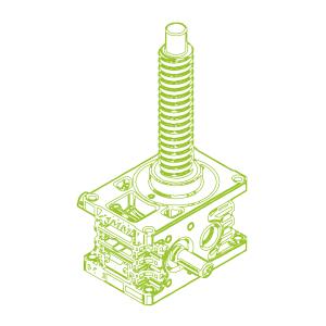 35kN-40×40-R-Ball screw