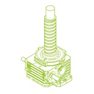 500kN-125×80-R-Ball screw