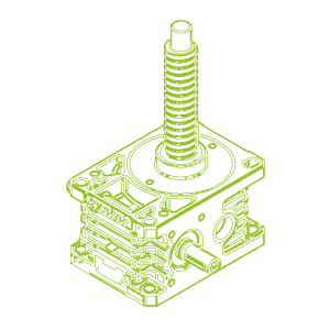 50kN-40×5-R-Ball screw