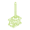 R-Ball screw 5kN | 16x5
