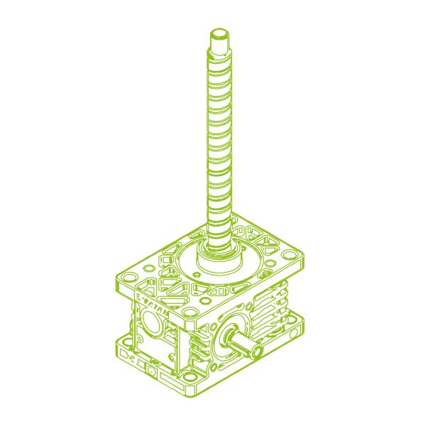 R-Ball screw 5kN   16x5