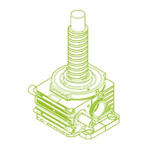 750kN-140×80-R-Ball screw