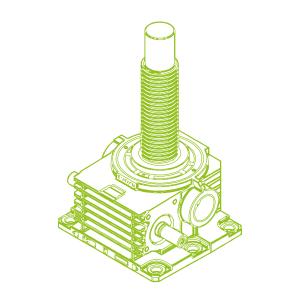 R-Trapezoidal screw 1000kN | 160x20