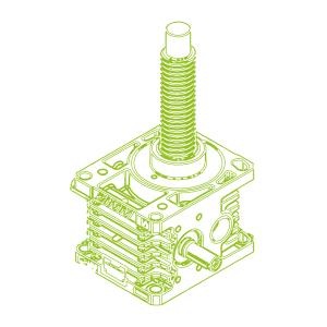 100kN-55×9-R-Trapezoidal screw