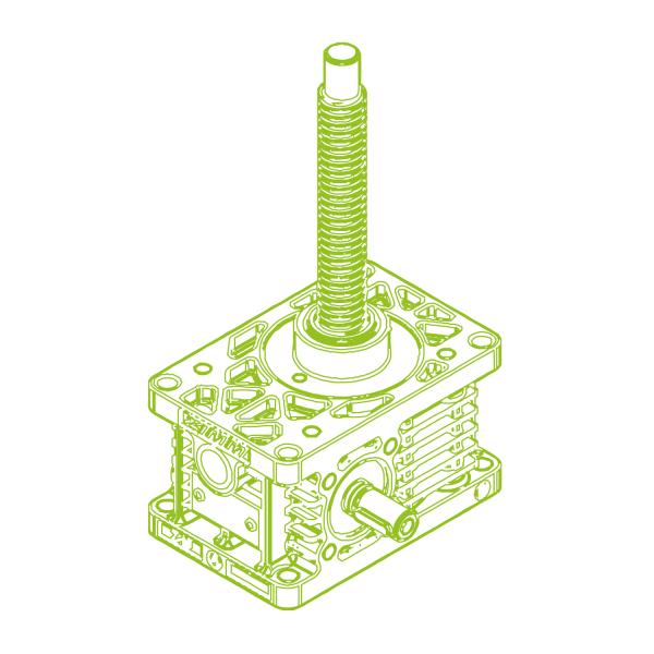 Z R-Trapezoidal screw 10kN-20x4