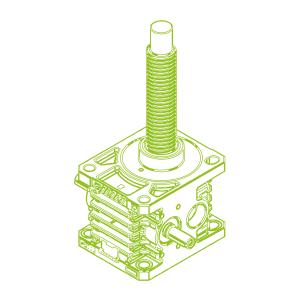 R-Trapezoidal screw 150kN | 60x9
