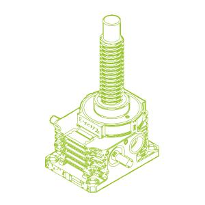 250kN-80×16-R-Trapezoidal screw