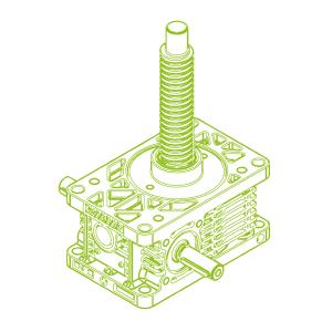 Z R-Trapezoidal screw 25kN | 30x6