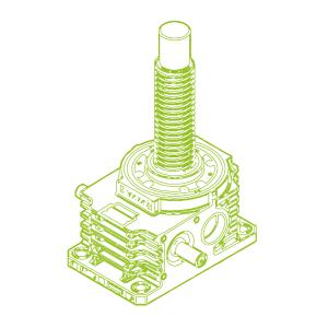 350kN-100×16-R-Trapezoidal screw