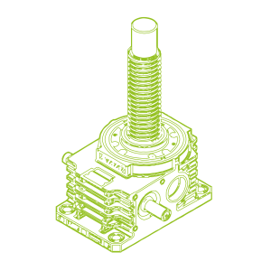 R-Trapezoidal screw 350kN | 100x16