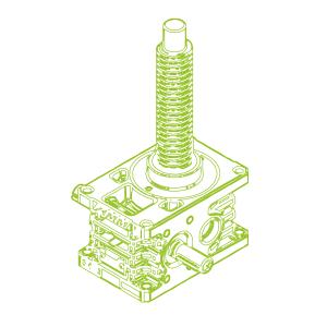 35kN-40×7-R-Trapezoidal screw