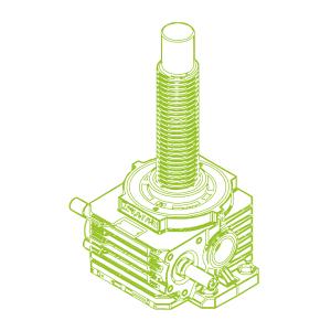 R-Trapezoidal screw 500kN | 120x16