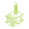 R-Trapezoidal screw 50kN | 40x7