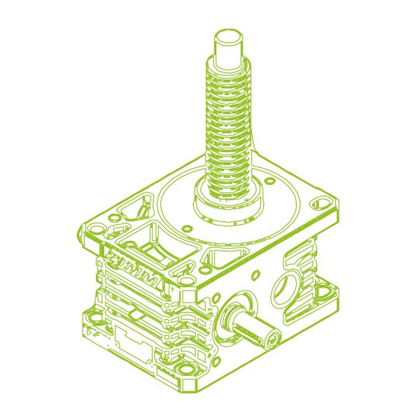 R-Trapezoidal screw 50kN   40x7