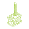 R-Trapezoidal screw 5kN | 18x4